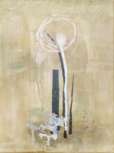 Liten vit blomma II